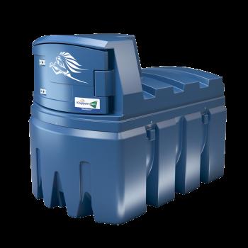 Cuve Bluemaster® de stockage AdBlue® 2500L à 9000L en polyéthylène double paroi avec système de régulation de température