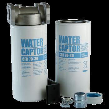 Filtre séparateur d'eau WATERCAPTOR ®, 70 L/min ou 150 L/min