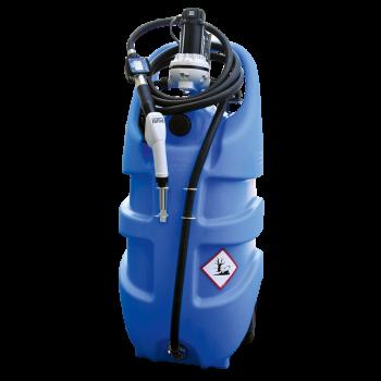 Jerrican EMILCADDY® de transport AdBlue ® 55L ou 110L en polyéthylène avec batterie et chargeur intégrés