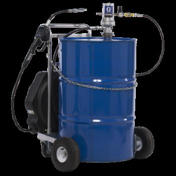 Groupe pneumatique mobile de distribution d'huile propre 3:1, 34 L/min pour fût