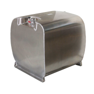 Cuve ALUTANK ® homologuée ADR de transport essence 90L à 330L en aluminium
