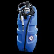 Jerrican EMILCADDY ® de transport AdBlue ® 55L ou 110L en polyéthylène avec batterie et chargeur intégrés