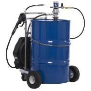 Groupe pneumatique mobile de distribution d'huiles propres 3:1 pour fûts, 34 L/min