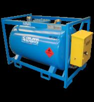 Cuve TRASPO ® homologuée ADR de transport gasoil 250L à 910L en acier
