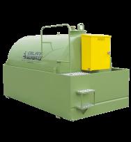 Cuve TANKFUEL ® de stockage gasoil 1300L à 9000L en acier