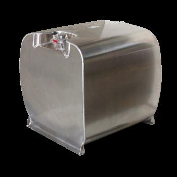 Cuve ALUTANK® homologuée ADR de transport essence 90L à 330L en aluminium